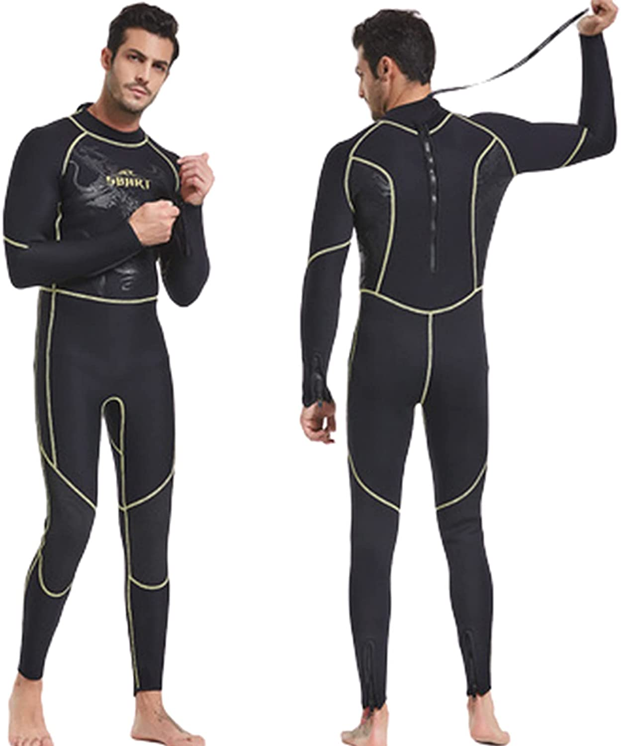 JHMM 3MM Neoprene Full Body online shopping Diving Max 44% OFF Suit Sui Wetsuit Surfing Men