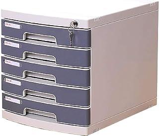 Schreibtischlampe Armoire de classement multifonction à 4/5 tiroirs/fournitures de bureau, rangement de bijoux, armoire de...