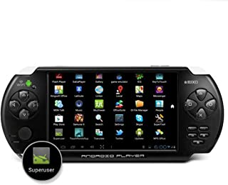 """Latest 5"""" EFEEL JXD S5300 Android 4.1 1GHz 512M/4G DDR3 handheld GamePad Console PSP HD Touch Screen Camera Wifi Game Player Black"""