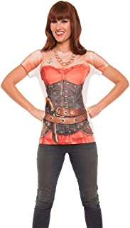 Faux Real Women's Ladies Pirate Top