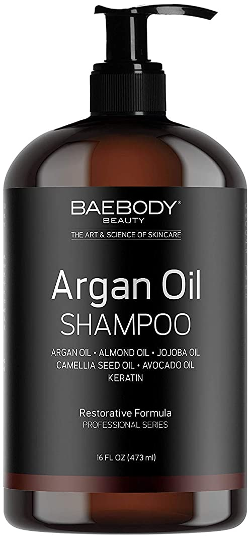 口述倉庫温かいMoroccan Argan Oil Shampoo 16 Oz