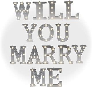 marry me wedding decor