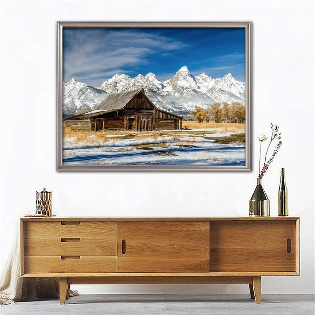 Diamond New item Embroidery Large Max 57% OFF DIY 5D Mountain H Kits Painting