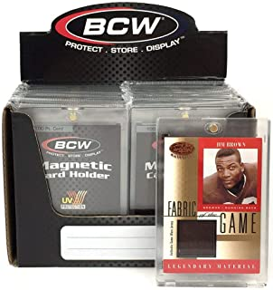 Box of 16 BCW Magnetic Card Holders - 100 Pt.