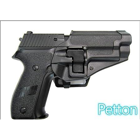 BLACKHAWKタイプ右用 ホルスター 防水 (1.黒色 P220 P226) [並行輸入品]