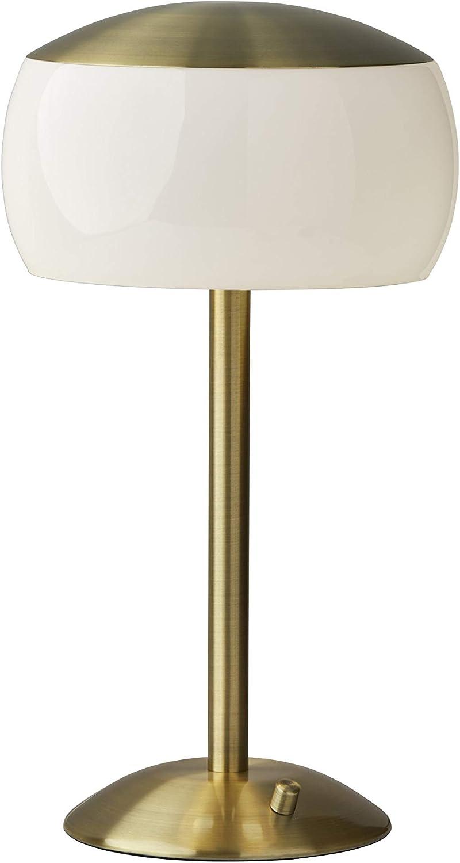 Adesso 5 ☆ Miami Mall very popular 5002-21 Jessica Table Lamp Brass Antique