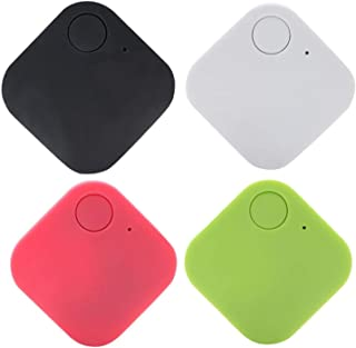 $42 » HPH 4 Pack Smart Tracker, Bluetooth Key Finder, Locator Item Finder for Phone,Key, Item, Pets, Children Locating