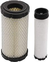 Yiizy M113621 Air Filter for John Deere Original Equipment Kawasaki K1211 82320 NAPA 6449 Baldwin RS3715 Fleetguard AF25550 WIX 46449, M113621 Air Filter