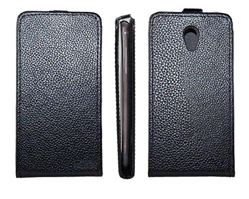 caseroxx Flip Cover für Medion Life E5004 MD 99628, Tasche (Flip Cover in schwarz)