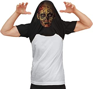 DE LOS Hombres Would You Like To See My Zombie Disfraz Muertos vivientes Víspera de Todos los Santos Camiseta Flip