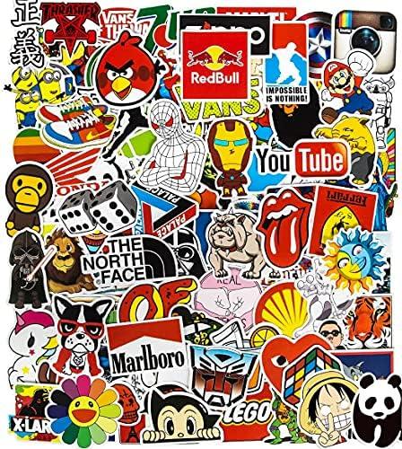 50Pcs Basketball Team Logo All-Star Logo Sports Stickers for Skateboard, Water Bottles, Phone, Laptop, Luggage, DIY Waterproof Vinyl Stickers for Kids Boy Teens Adults
