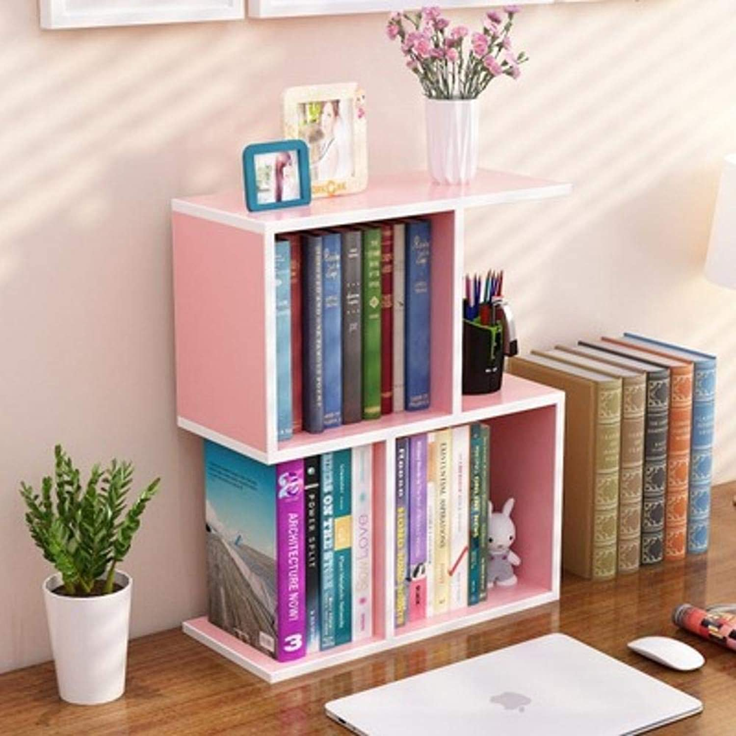 Yunfeng Bookshelf,Floor-Standing Multifunctional Rack Desktop Panel Storage Storage Shelf