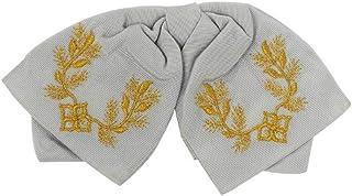 ربطة عنق مكسيكية للأولاد اللون الرمادي والذهبي المكسيكي فيستا كوكو للحفلات 5 مايو
