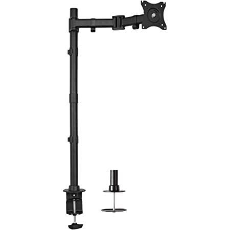 VIVO Single Monitor Desk Mount, Extra Tall Fully Adjustable Stand for up to 32 inch Screen STAND-V001T