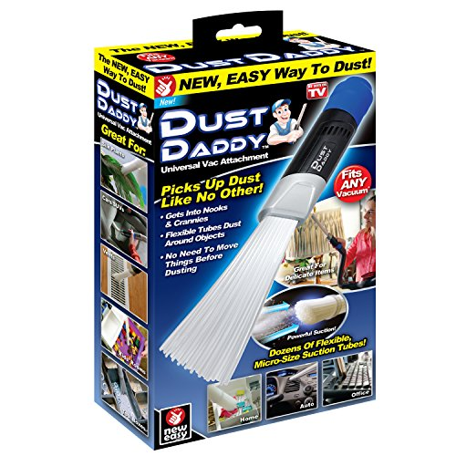 Ontel Dust Daddy | Universal Vacuum Cleaner Attachment | Dust and Dirt Remover | Authentic As Seen on TV
