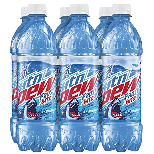 NEW Limited Edition Mountain Dew Frost Bite, 16.9 fl oz bottle, 12 count