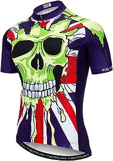 Uriah Men's Cycling Jersey Short Sleeve Reflective with Rear Pockets
