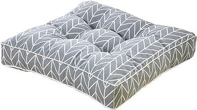 Home Acolchoado de Assento Quadrado Colorido, 100% Algodão Confortável Jardim Cozinha Jantar Cadeira Almofada Gravata Em V...
