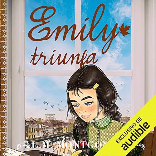 Diseño de la portada del título Emily Triunfa