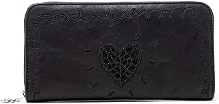 Luxury Fashion | Desigual Womens 19WAYP18BLACK Black Wallet | Fall Winter 19
