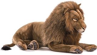 "HANSA Plush - 70"" Extra Large Laying Male Lion"
