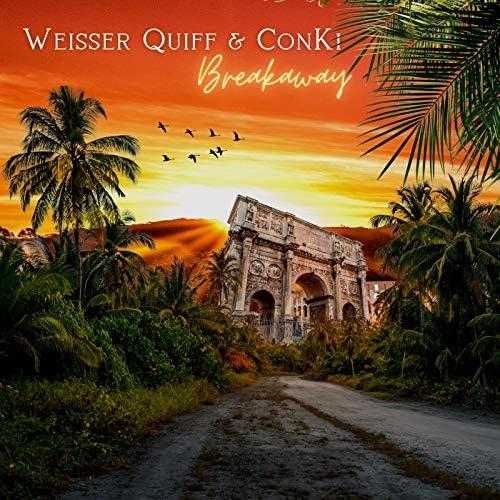 Weisser Quiff & ConKi