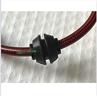 Greatly Store 10pcs Silicon Rubber Grommet Fixed Wheel Fit for AN3 Brake Lines Rubber Rings