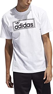 Men's Originals New Icon Tee Simple Sport White T-Shirt - FL4773