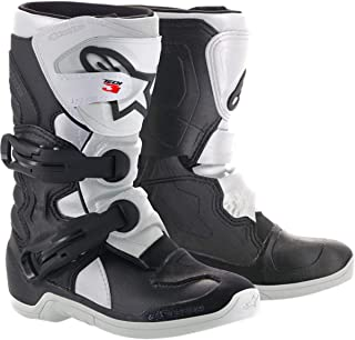Alpinestars Youth Tech 3S Kids Boots-Black/White-Y1
