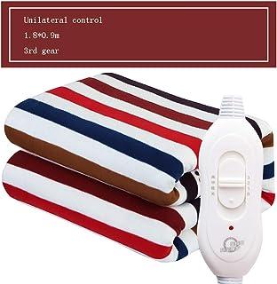 Manta eléctrica para Dos Personas, Manta calefactora de Tiro Control Dual Ajuste de Temperatura Protección radiológica Manta eléctrica doméstica,7