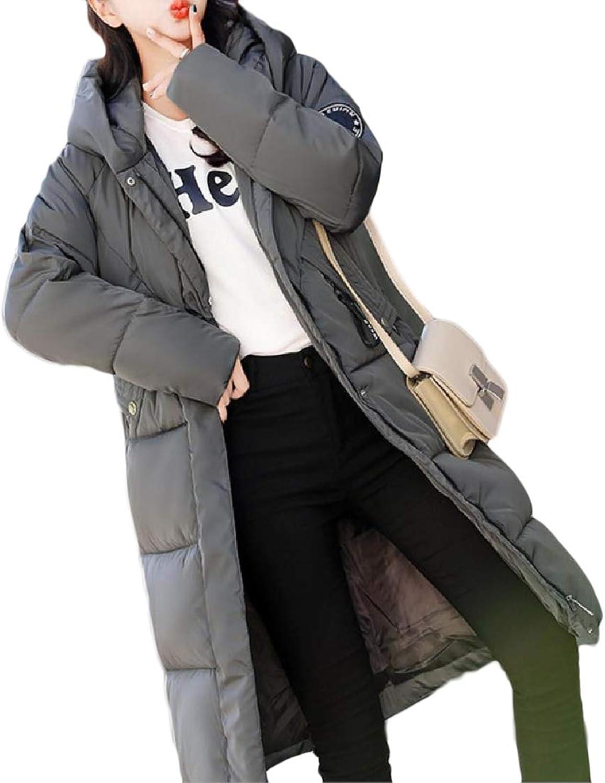 Abetteric Womens Puffer Parka Wrap Packable Lightweight Jacket Coat