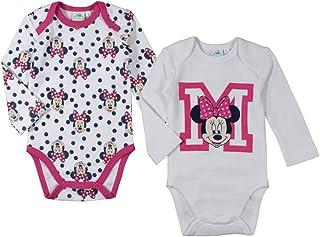 710436c11a47d Minnie Disney - Body - Bébé (Fille) 0 à 24 Mois Rose Blanc