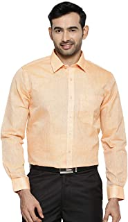 RAMRAJ COTTON Men's Regular Fit Shirt