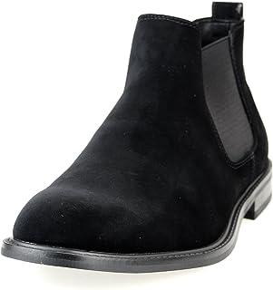 [エムエムワン] ショートブーツ サイドゴアブーツ メンズ ビジネスブーツ ビジネスシューズ ロングノーズ プレーントゥ 紳士靴 春 靴 [ MPB1911-6-S-CPZ ]