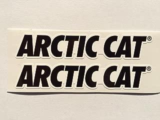 2 Arctic Cat Name Die Cut Decals