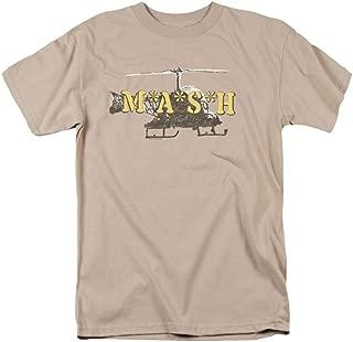 MASH Chopper Adult Sand T-Shirt