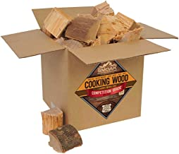 Smoak Firewood Cooking Wood Chunks - USDA Certified Kiln Dried (Hickory, 25-30 lbs)