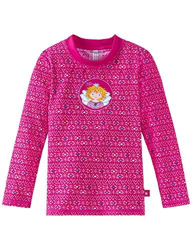 Schiesser Mädchen Aqua Prinzessin Lillifee Bade-Shirt Strandkleid, Rot (Fuchsia 508), 104