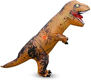 Inflatable Kids Trex Dinosaur Costumes for Boys Girls Cosplay Party