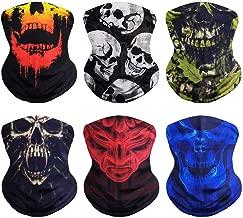 Best skeleton face mask motorcycle Reviews