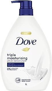 Dove Body Wash Triple Moisturising, 1L
