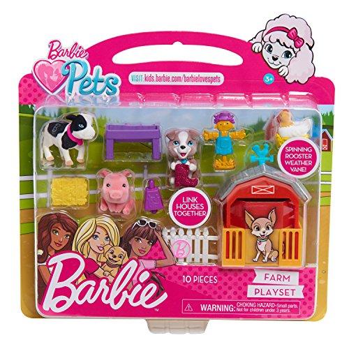 Barbie Pets Play Farm Set  Multicolor