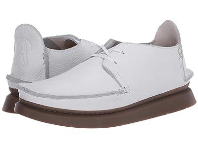 Clarks Seven (White Leather) Men