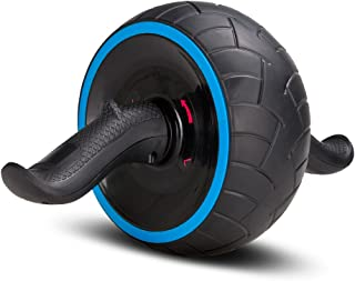 Covvy Abs Carver Ab-Roller Wheel Trainer Pro Abdominal & Stomach Exercise Training Fitness Equipment Core Waist line Strength Shredder with Knee Pad reps Gym Rat Home Travel Workout Tools