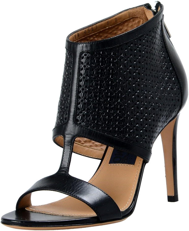 Salvatore Ferragamo Women's Pacella Leather High Heel Pumps shoes