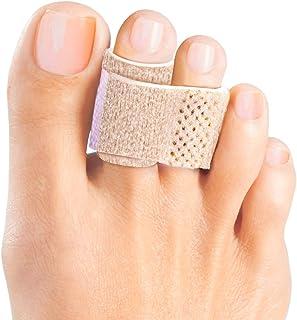 Welnove - Alisador de dedos de martillo, férulas para dedos de martillo, vendas acolchadas para la corrección de dedos de martillo, dedos rotos, dedos torcidos y dedos superpuestos