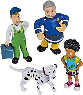 Simba 109251065 Fireman Sam Collectable Figures Series 1 4 Figures