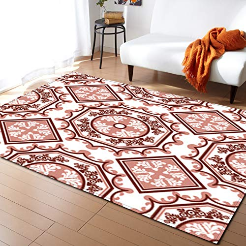 Double Thick Short Pile Carpet Non-Slip Floor Mat With Bumps On The Back Suitable For Toilet, Bedroom, Balcony Feet