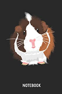 Guinea Pig Notebook: Cute Guinea Pig Lined Journal for Women, Men and Kids. Great Gift Idea for all Cavy Lover.