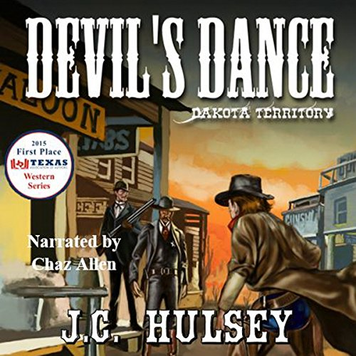 Devil's Dance - Dakota Territory audiobook cover art